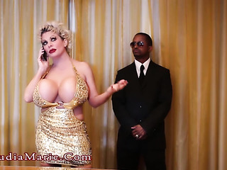 bodyguard seduction from busty