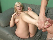 pierced nipples blonde bbw