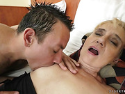 blonde, mom, rough sex, young