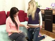 Lara G and Mia E Blondes