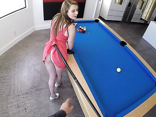 miniature young babe sucking