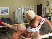 big tits, hardcore, nurse, uniform