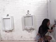 bathroom, dick, interracial, skinny