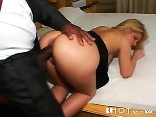 big ass blonde gets