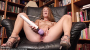 redhead mademoiselle playing with