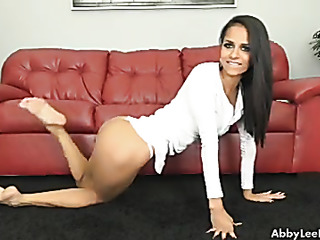 babe white undresses and