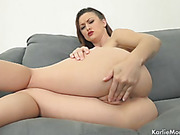 glamour natural lady with