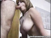 amateur mature giving head