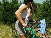 Tiffany C and Michelle J Dildo