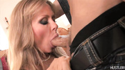 blonde milf gets eaten