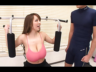pink bra brown-haired japanese