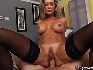 hot blonde mature gets
