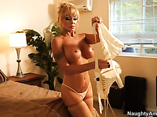 mature mom stockings rides
