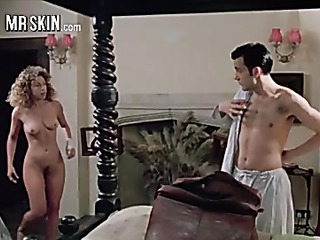 busty babe walks naked