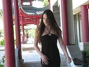22 yo Tiffany Sweet dress and heels