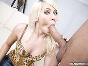 big cocks, black, throat, white