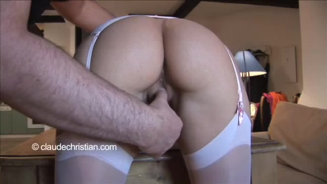 Blonde bent over and fucked join told