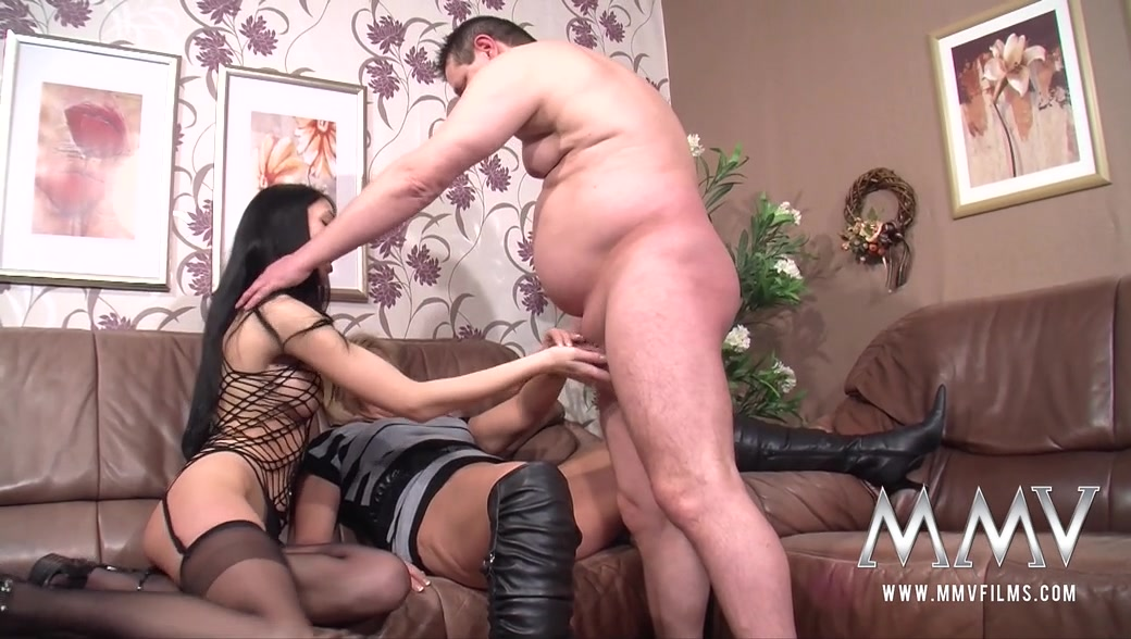 Big Tit Interracial Threesome
