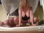 two mature fatties with