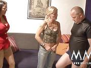 horny dude pleasing busty