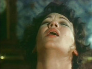Hot vintage scene from a horny broad who is flushed in the cheeks when sucking cock.