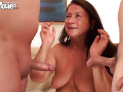 Mature fatties need love too and hook up with younger boys for crazy fun.