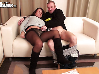 grannie blowjobs Mother having sex with her son - RE.