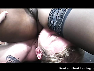 interracial smothering from sexy