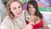 two blonde lesbian sluts