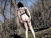 butt, pretty, shemale, stroking