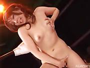 naughty japanese hottie exposes