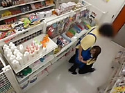 Lustful Japanese amateur sales girl sucks and rides cock at work