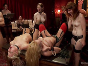 People love to watch dirty BDSM games by sexy ladies