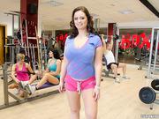 amateur, public, white, workout