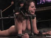 bondage, bound, face, girl next door