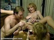 asshole, blonde, bottle, hardcore