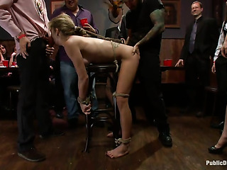 tattooed blonde buxom squirting