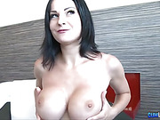 Busty raven wants it in her ass this time instead of on her pierced clit
