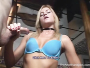 passionate blondie gives perfect