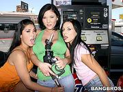 asian, group sex, tittyfuck, white