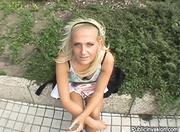 hot european chick