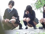 three naughty japanese babes