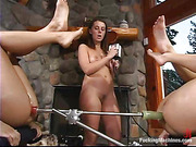 three sexy ladies having