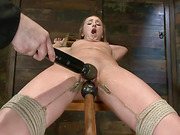 toyed and tied blondie