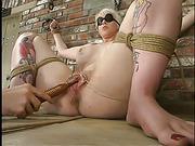 big boobed blonde gal