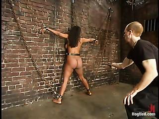 ebony slave girl chains