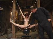 19 year, bondage, old, tied