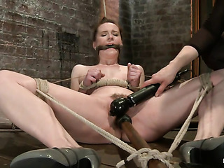 bound and gagged little