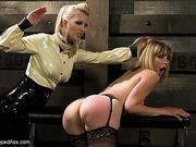 blondie stockings gets gagged