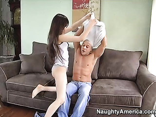 skinny brown haired porn